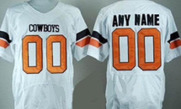 Oklahoma State Cowboys Customizable College Football Jersey