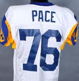 Orlando Pace Los Angeles Rams Throwback Football Jersey