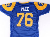 Orlando Pace Los Angeles Rams Football Jersey