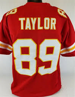 premium selection 1e434 c68d8 Otis Taylor Kansas City Chiefs Throwback Football Jersey