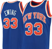 Patrick Ewing New York Knicks 1991-92 Throwback Jersey
