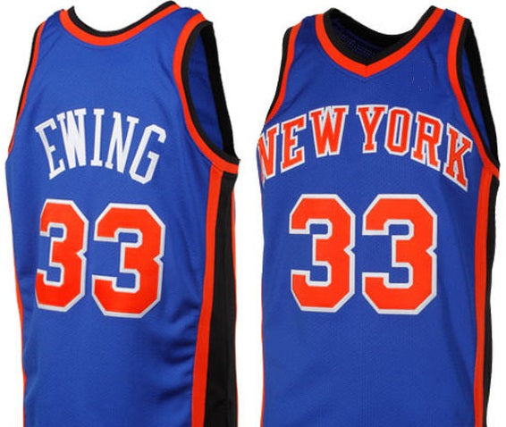 Patrick Ewing New York Knicks 1996-1997 Basketball Jersey