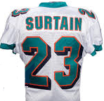 Patrick Surtain Miami Dolphins Throwback Football Jersey