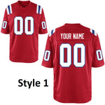 New England Patriots Style Customizable Football Jersey
