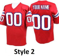 New England Patriots Style Customizable Jersey