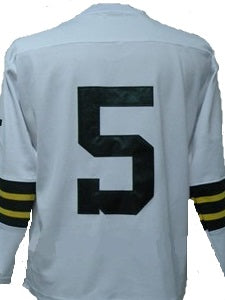 online retailer caf6a 6dc00 Paul Hornung Green Bay Packers Long Sleeve Vintage Style Throwback Football  Jersey