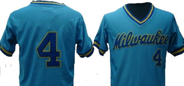 Paul Molitor 1982 Milwaukee Brewers Throwback Jersey