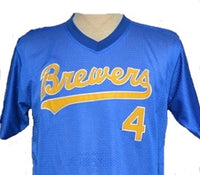 Paul Molitor Milwaukee Brewers Throwback Jersey