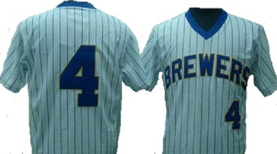 Paul Molitor Milwaukee Brewers Throwback Home Jersey