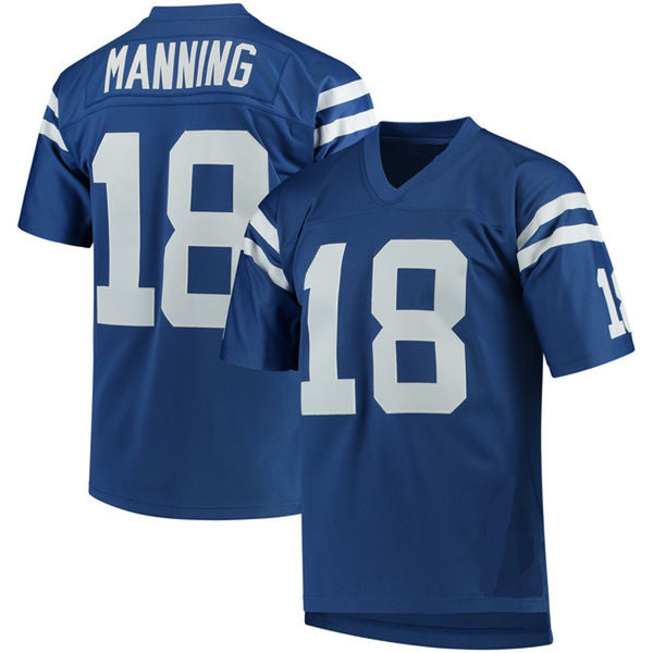 Peyton Manning Indianapolis Colts Throwback Football Jersey