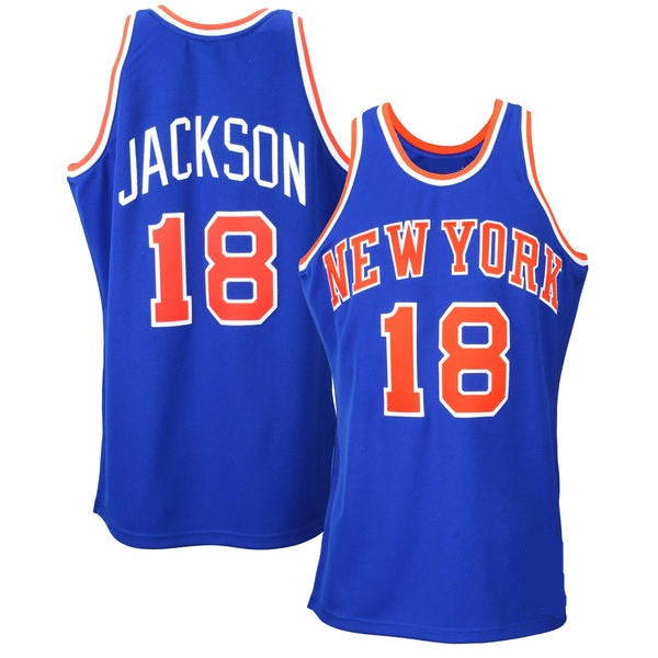 Phil Jackson New York Knicks 1972-73 Throwback Jersey