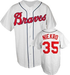 Phil Niekro Atlanta Braves Throwback Jersey