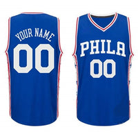 Philadelphia 76ers Style Customizable Basketball Jersey