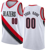 Portland Trailblazers Style Customizable Basketball Jersey