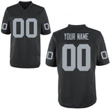 Oakland Raiders Style Customizable Football Jersey