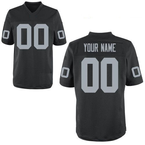 Customizable Oakland Raiders Pro Style Football Jersey