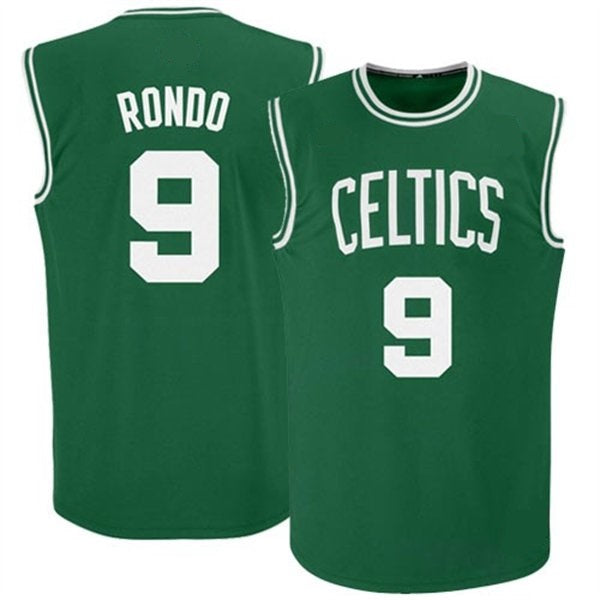 Rajon Rondo Boston Celtics Throwback Basketball Jersey