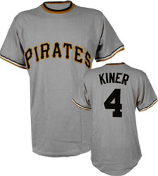 Ralph Kiner Pittsburgh Pirates Throwback Jersey