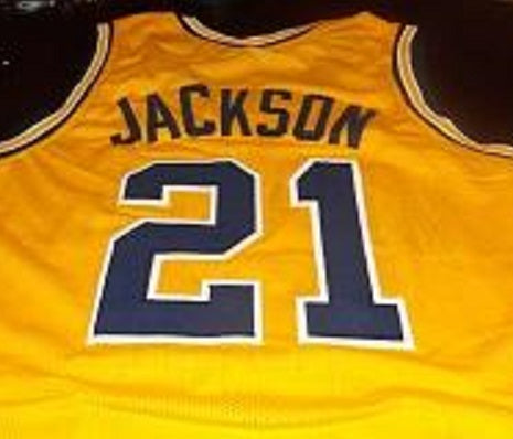 Ray Jackson Michigan Wolverines College Basketball Throwback Jersey