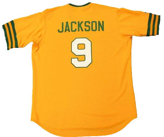Reggie Jackson Oakland A's Authentic Cooperstown Collection Baseball Jersey (In-Stock-Closeout) Size XXL/52 Inch Chest