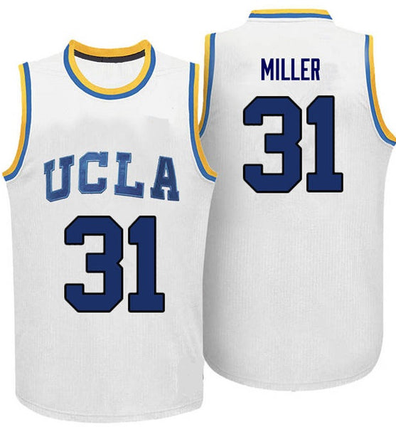 Reggie Miller UCLA Bruins Basketball Throwback Jersey