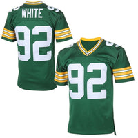 Reggie White Green Bay Packers Throwback Football Jersey
