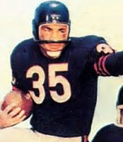 Rick Cesares Chicago Bears Vintage Style Football Jersey