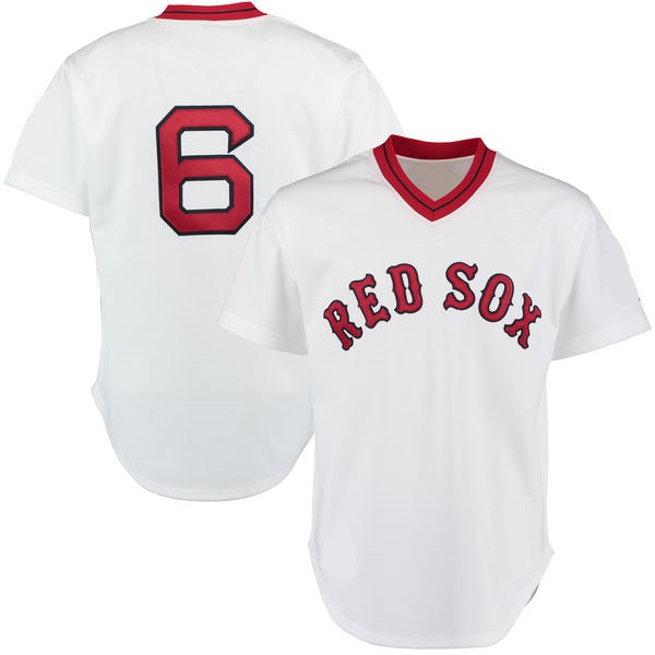 Rico Petrocelli 1975 Boston Red Sox Throwback Jersey