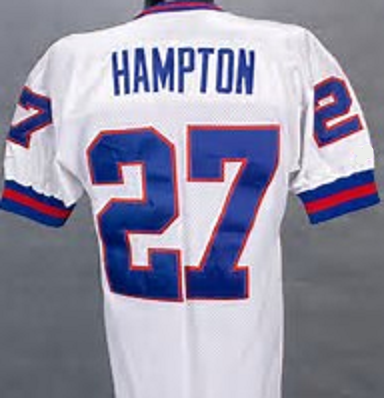 pretty nice c480f d1c9e Rodney Hampton New York Giants Throwback Football Jersey