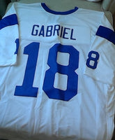 Roman Gabriel Los Angeles Rams Throwback Football Jersey (In-Stock-Closeout) Size 3XL/56 Inch Chest