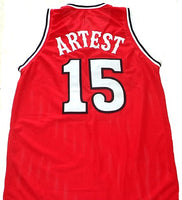 Ron Artest St. Johns University Redmen Basketball Jersey