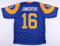 Ron Jaworski Los Angeles Rams Throwback Football Jersey