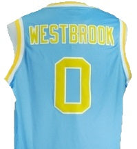 the best attitude fbdb2 65e7c Russell Westbrook UCLA Bruins College Basketball Throwback Jersey
