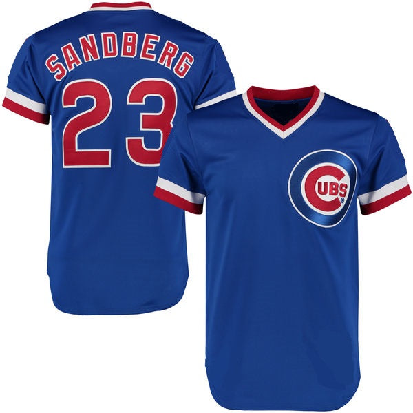 Ryne Sandberg 1984 Chicago Cubs Throwback Jersey