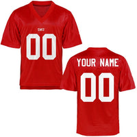 SMU Mustangs Style Customizable Football Jersey