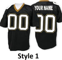 New Orleans Saints Style Customizable Football Jersey