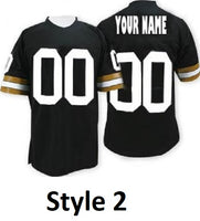 New Orleans Saints Style Customizable College Football Jersey