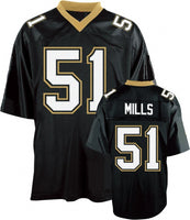 Sam Mills New Orleans Saints Throwback Football Jersey
