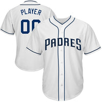 San Diego Padres Style Customizable Baseball Jersey