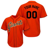 San Francisco Giants Style Customizable Jersey