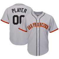 San Francisco Giants Customizable Baseball Jersey