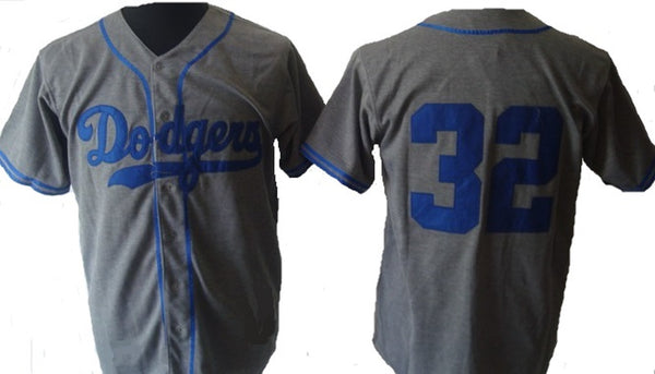 Sandy Koufax Los Angeles Dodgers Throwback Road Jersey