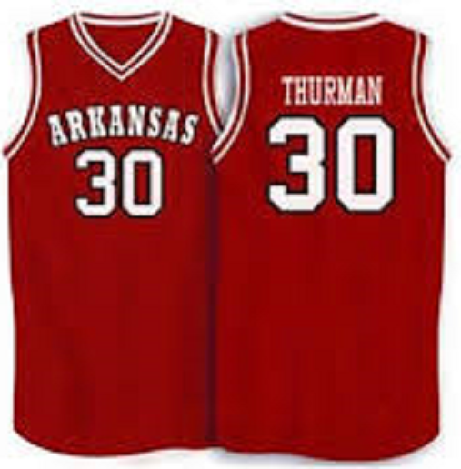 Scotty Thurman Arkansas Razorbacks College Basketball Jersey