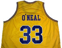 Shaquille O'Neal LSU Tigers Basketball Jersey