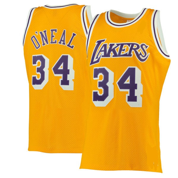 Shaquille O'Neal Los Angeles Lakers 1996-97 Jersey