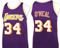 Shaquille O'Neal Los Angeles Lakers Throwback Jersey