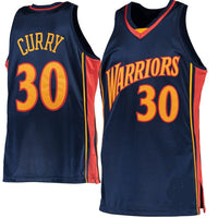 Stephen Curry Golden State Warriors Throwback Basketball Jersey