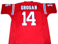 Steve Grogan New England Patriots Throwback Football Jersey