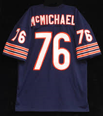 Steve McMichael Chicago Bears Throwback Football Jersey