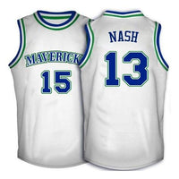 Steve Nash Dallas Mavericks Throwback Basketball Jersey